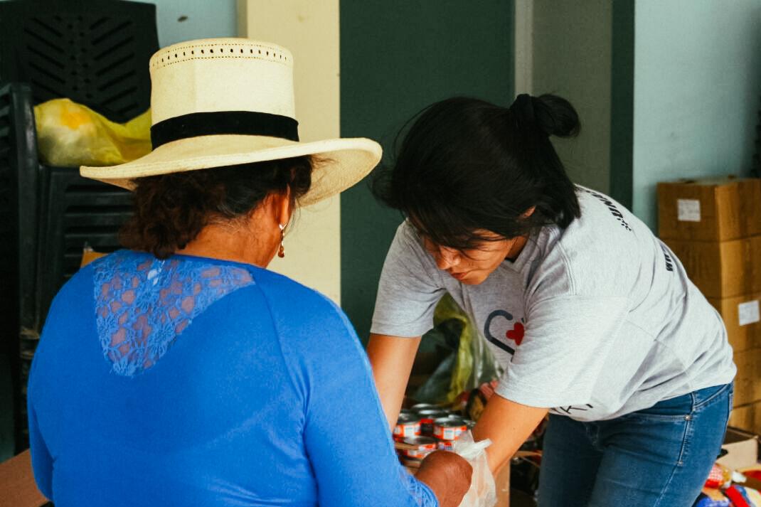 Misión Médica contra el fríaje en Palca (Lampa, Puno)